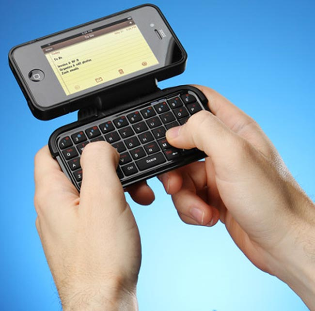 TK-421 iPhone Case With Flipout Keyboard