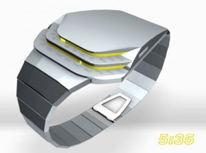 Tokyoflash Cobra LED Concept Watch
