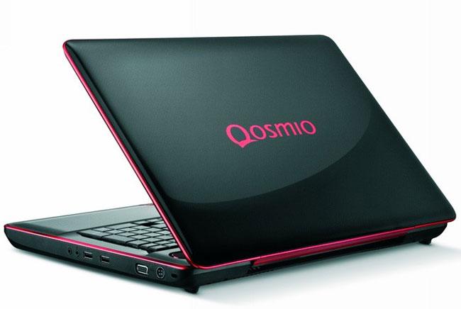 Toshiba Qosmio X500 Gaming Notebook Getz GTX 460M Graphics