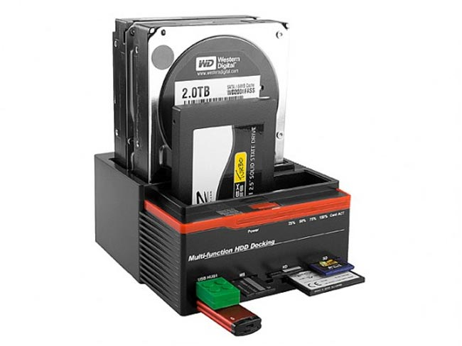 Triple SATA HDD Multi-Function Dock