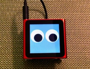 The Walking iPod Nano Robot (Video)