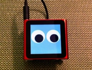 The Walking iPod Nano Robot (Video)
