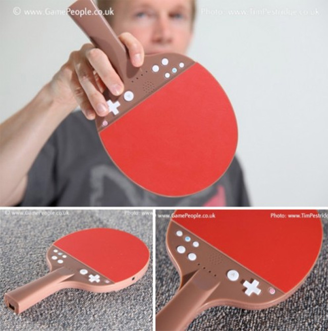 Wii Table Tennis Paddle Controller