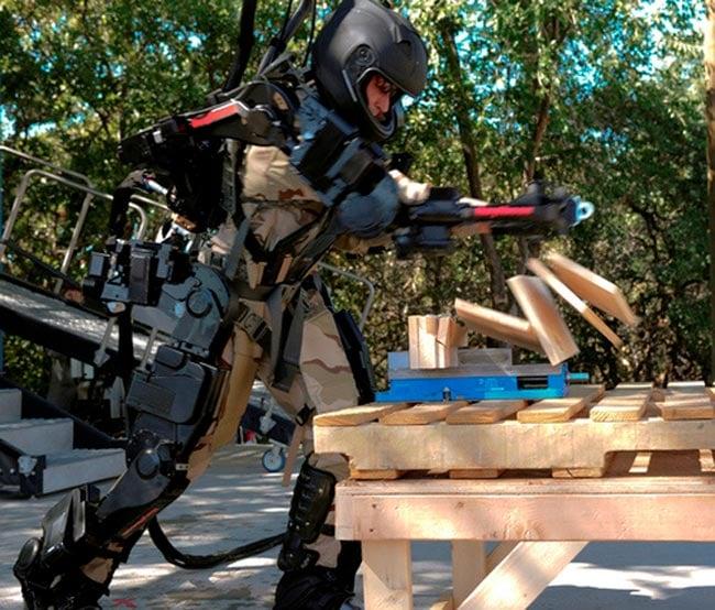 XOS 2 Exoskeleton