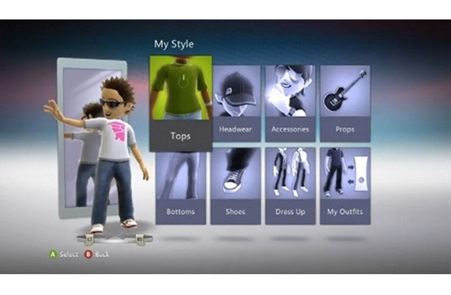 Xbox 360 Kinect Dashboard