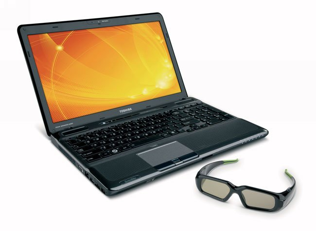 Toshiba Satellite A665 3D Notebook