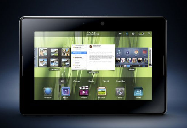 BlackBerry PlayBook Tablet Gets Official