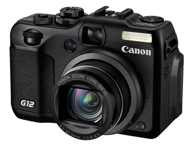 Canon Powershot G12 Announced