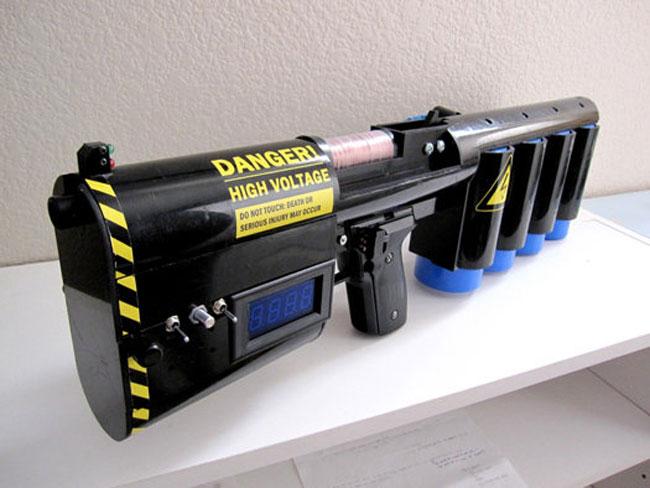DIY Portable 1.25KJ Coilgun (Video)