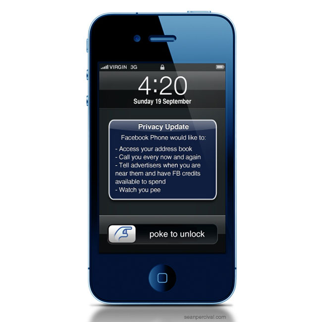 What The FaceBook Phone May Look Like