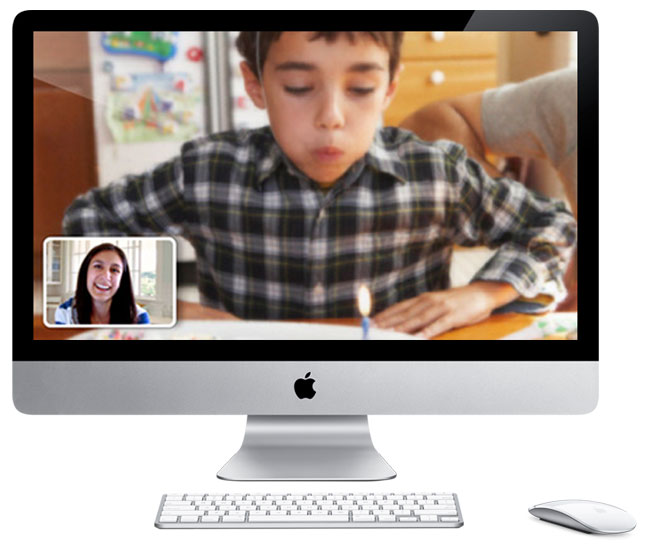 Apple To Roll Out FaceTime To Macs?