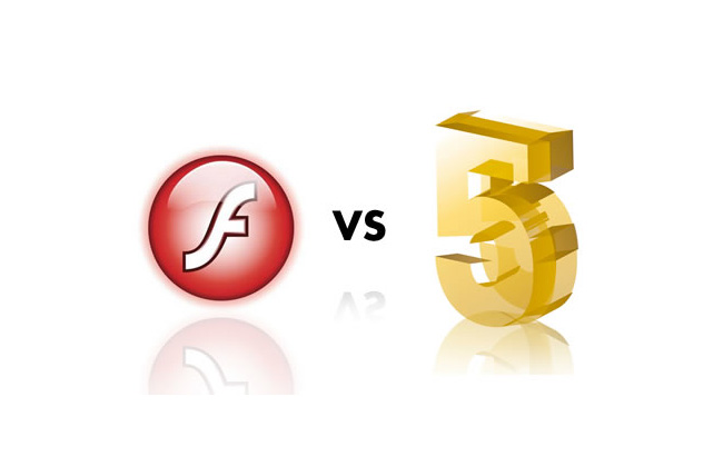 flash vs HTML 5