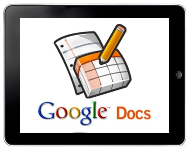Google Docs iPad