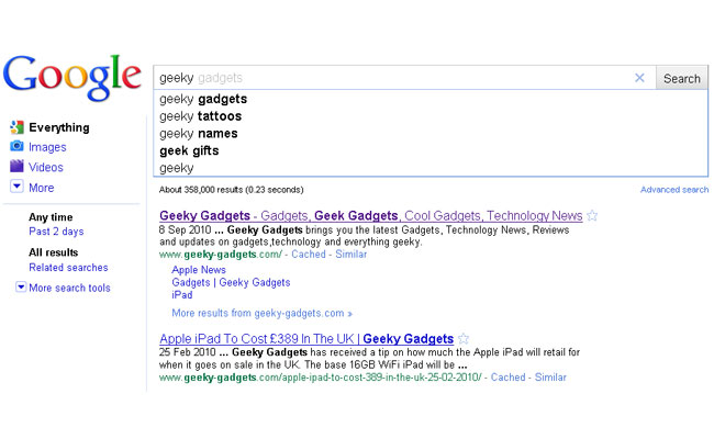 Google Announces Instant Search