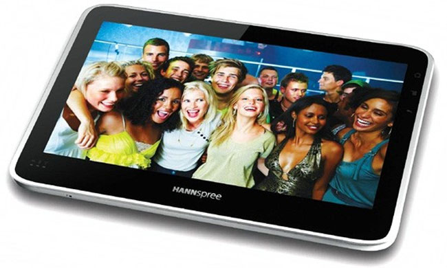 Hannspree Tegra 2 10 Inch Android Tablet In Action (Video)
