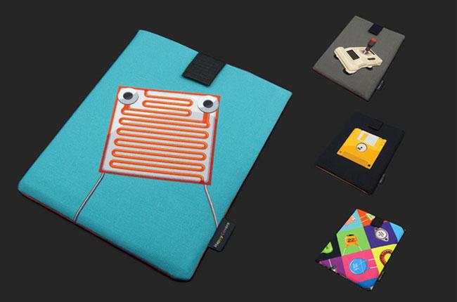 Happy Covers iPad Case