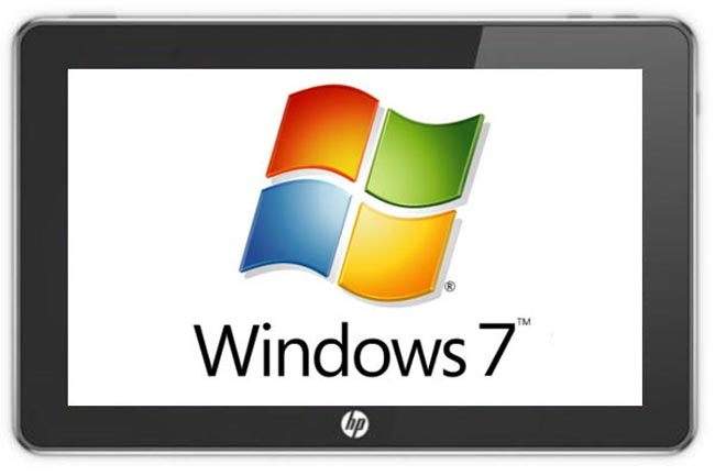 HP Slate Prototype Windows 7 Tablet (Video)