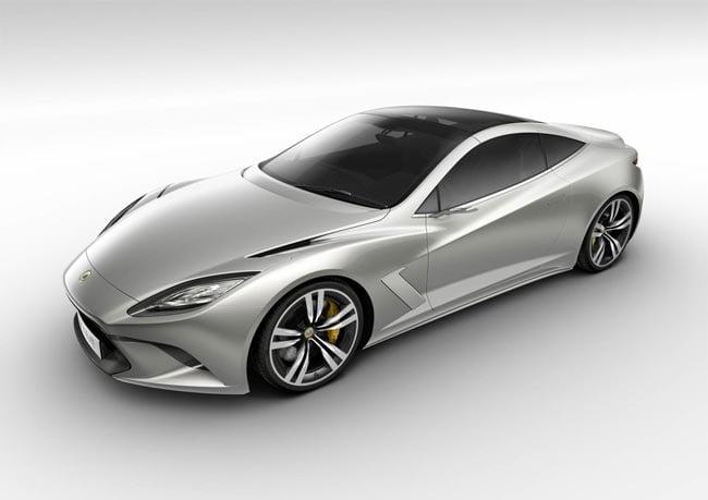 Lotus Hybrid V8 Elite Supercar