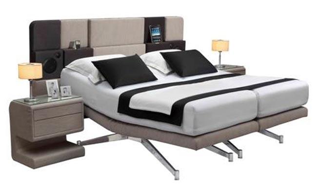 The iCon Bed iPad Dock