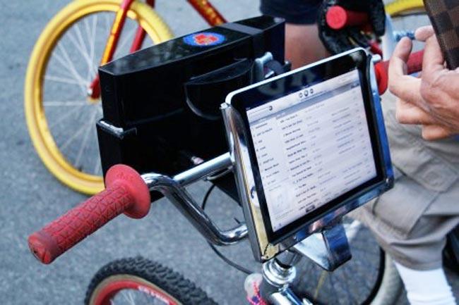Ipad And Speaker Bike Mount