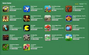 iOS App Store Now Features Game Centre