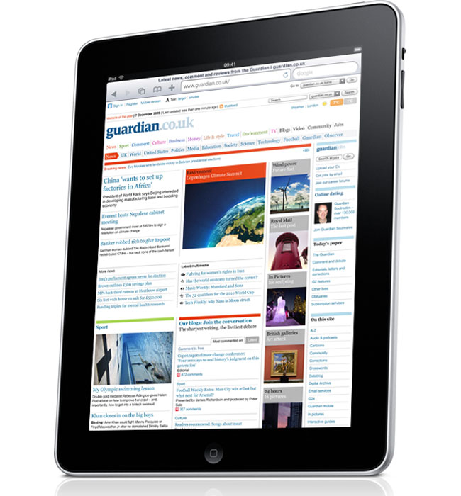 Apple To Launch Newspaper Subscriptions For iPad?