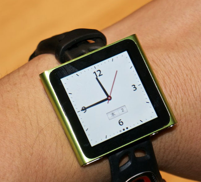 New iPod Nano Gets Turned Into iWatch