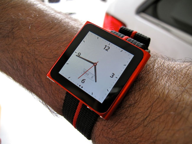 The iPod Nano Watch