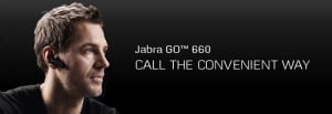 Jabra Go 660 Bluetooth Headset Supports Mobile and PC