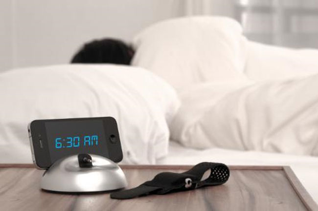 LARK Up Silent Alarm Clock iPhone Accessory