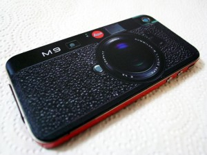 Leica M8 And M9 iPhone 4 Decals