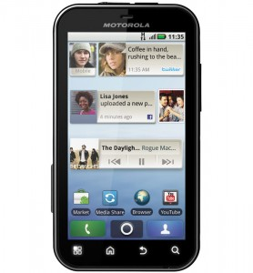 Motorola Defy Rugged Android Smartphone