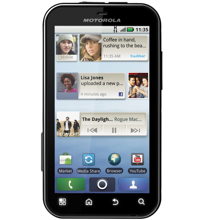 Motorola Defy Rugged Android Smartphone