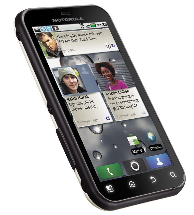 Motorola Defy Rugged Android Smartphone Headed To T-Mobile