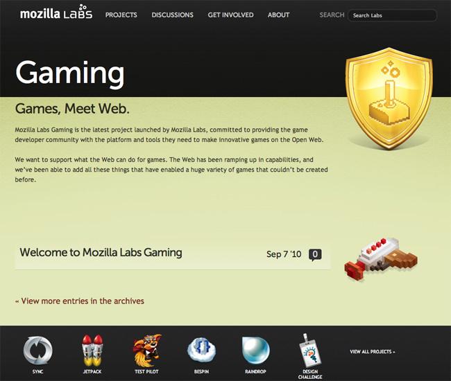 mozilla-labs-gaming