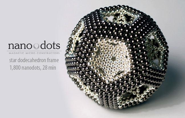 Как сделать из магнитных шариков