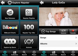 Napster iPhone App Now Available