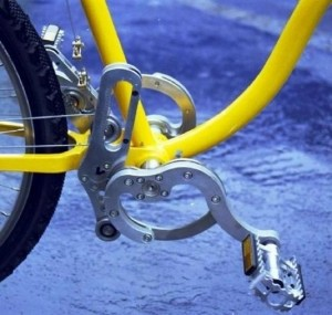 New Bikes Design Uses Wires Rather Than Chains