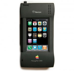 Apple Newton iPhone Case