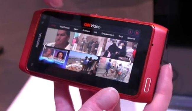 Nokia n8 web TV