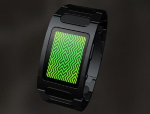 Tokyoflash Optical Illusion LED Concept Watch