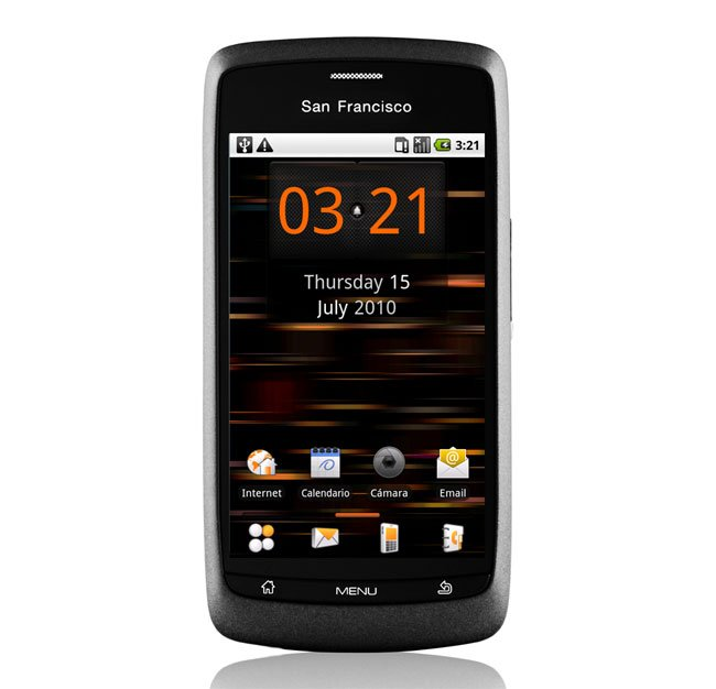 Orange San Francisco Budget Android Smartphone Announced