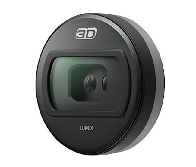 Panasonic's New 3D Lens For Micro Four Thirds Lumix G Range