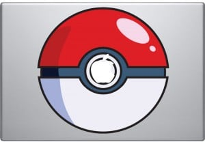 Pokeball Macbook Decal