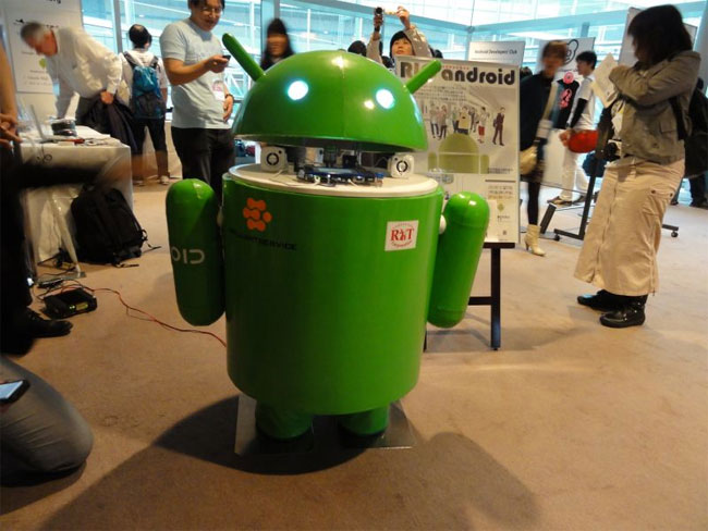 RIC Android Robot (Video)