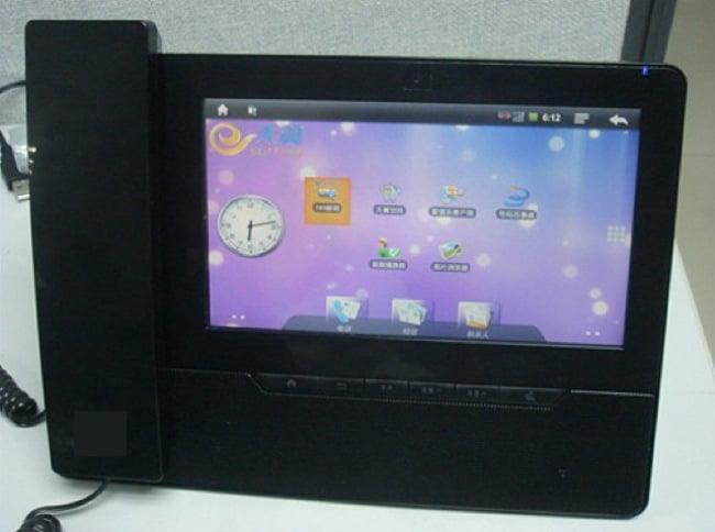 Rockchip Tease Desk-Bound Smartphone