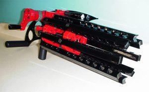 rubberband gatling gun