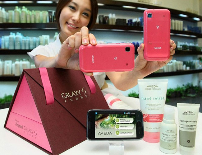 Samsung Galaxy S Femme Android Smartphone