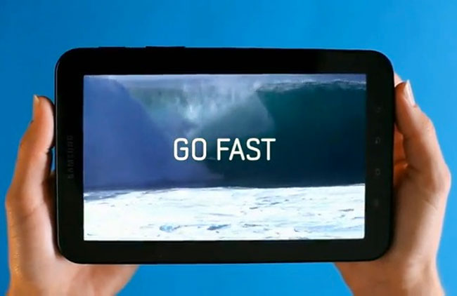 Samsung Galaxy Tab Promo (Video)