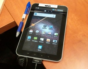 Samsung Galaxy Tab Android Tablet Headed To Vodafone UK
